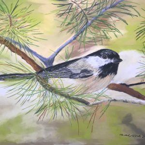 Black-capped Chickadee (19x14 1:2)