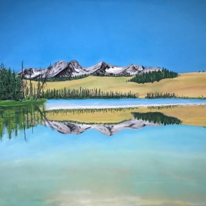Little Redfish Lake (23x17)