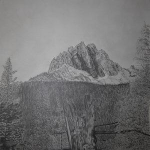 Mt. Heyburn (25x22)