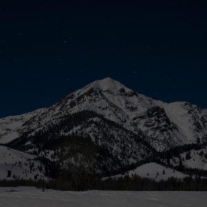 Star Lit Boulder Peak