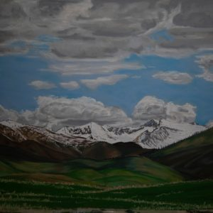Storm Clearing (24x18)
