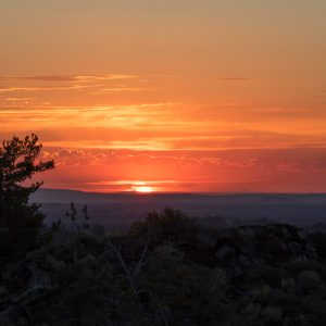 Sunrise, Craters of the Moon National Monument