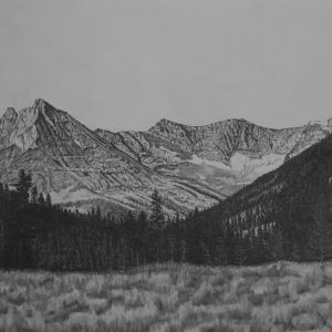 Wild Horse Basin, Pioneer Mountains Idaho (20x14)