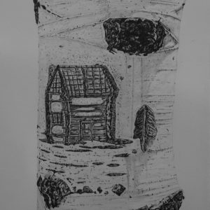 Arborglyph #12, Johnstone Creek_graphite