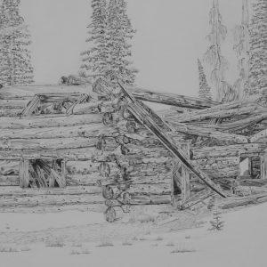 Boulder Basin Cabin_graphite