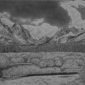 Fishhook Creek_graphite